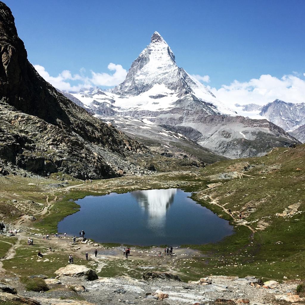 Matterhorn reflected in Riffelsee